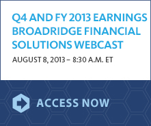 FY2014 Earnings Webcast