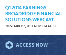 1Q 2014 Earnings Webcast