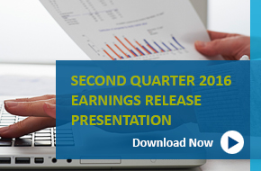 Q1 2016 Earnings Presentation banner
