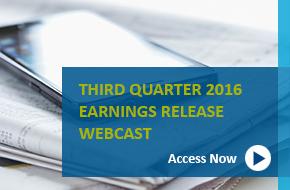 Q1 2016 Earnings Webcast banner