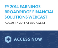 Earnings Webcast banner