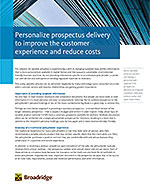 Personalize Prospectus Delivery to Improve the Customer Experience and Reduce Costs thumbnail