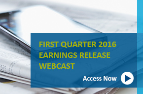 Q1 2016 Earnings Webcast banner