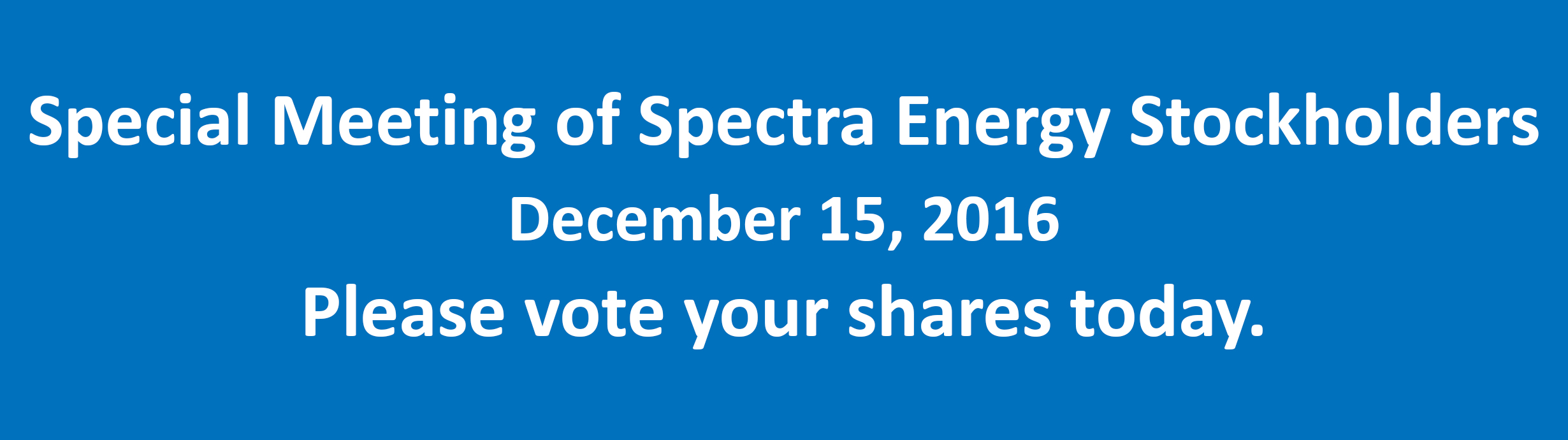 Spectra Special Meeting Slider